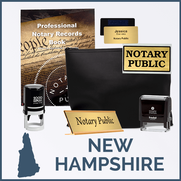 New Hampshire Deluxe Notary Kit