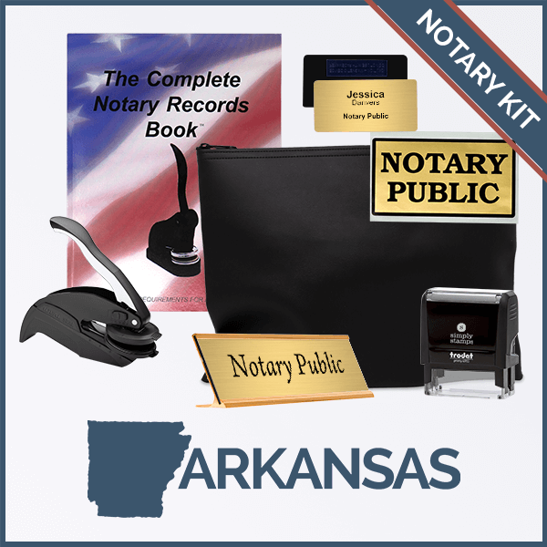 Arkansas Deluxe Notary Kit
