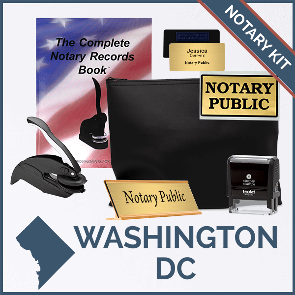 District Of Columbia Deluxe Notary Kit