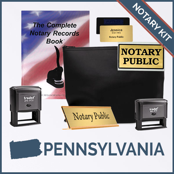 Pennsylvania Deluxe Notary Kit
