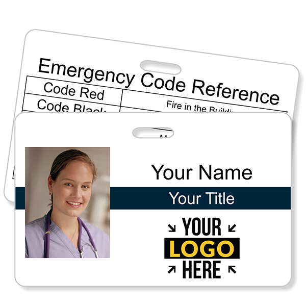 Double Sided Horizontal Photo ID with Code Quick Guide