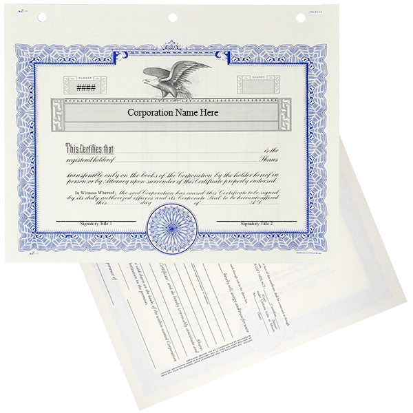 Duke 11 Stock Certificates | Quantity of 20 or More