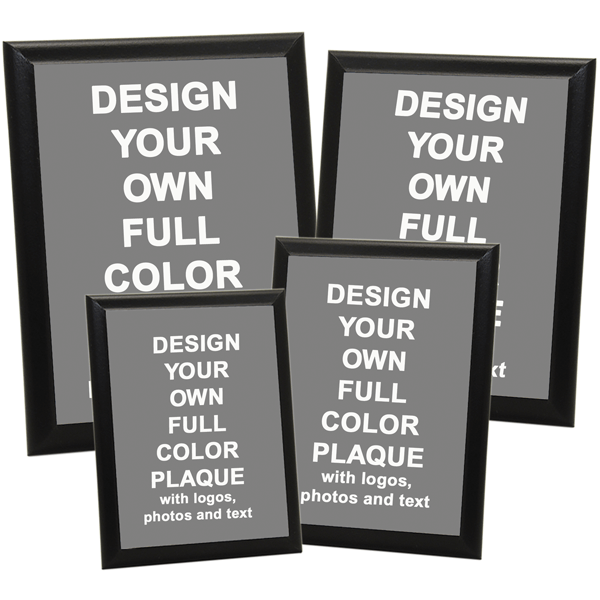 Full Color Photo Plaque with Black Edge