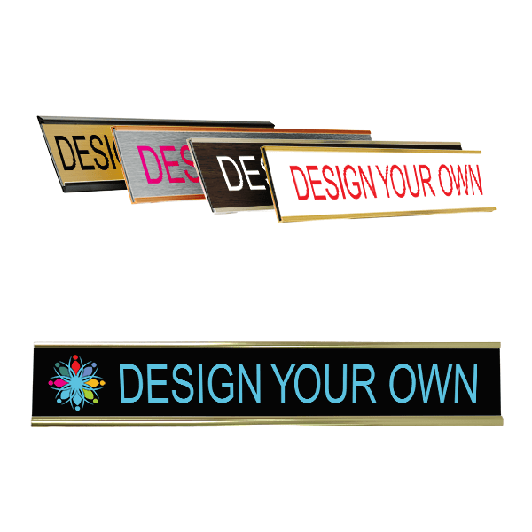 """Full Color Wall Name Plate - 1"""" x 8"""""""