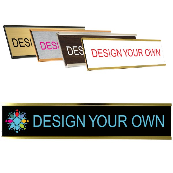 """Full Color Wall Name Plate - 2"""" x 10"""""""