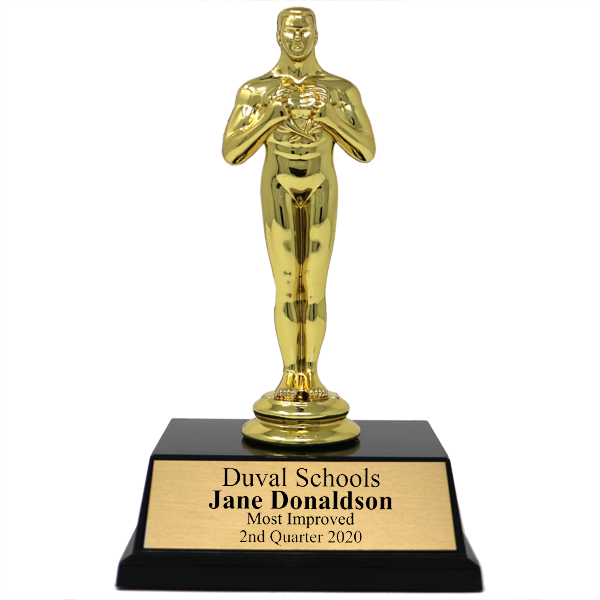 Most Improved Achievement Award Trophy