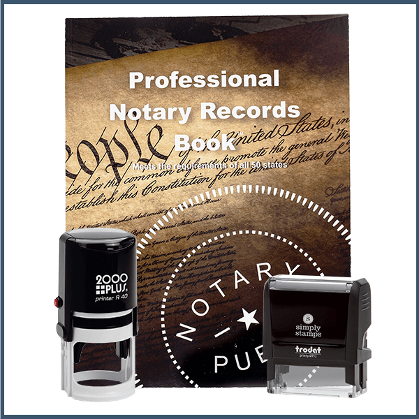 New Hampshire Value Notary Kit