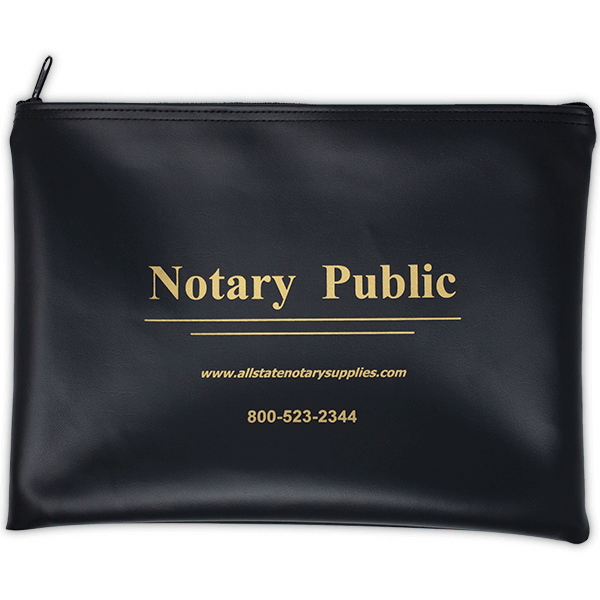 Notary Zipped Pouch
