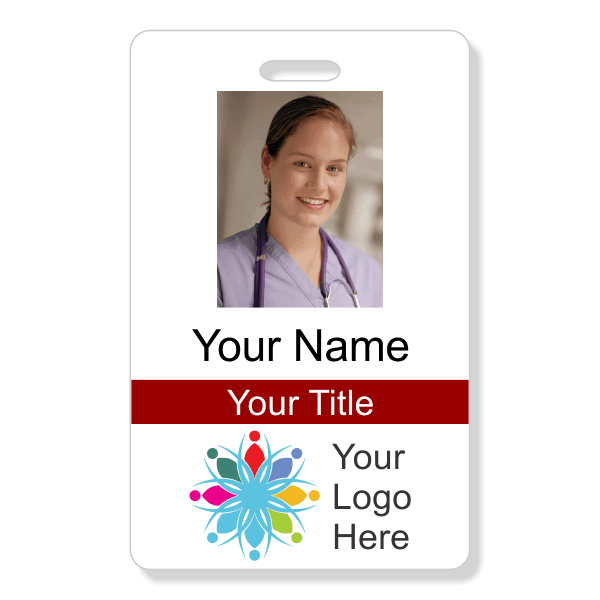 Photo ID Badge - Style 101