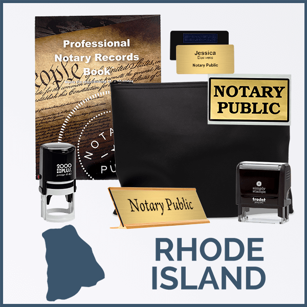 Rhode Island Deluxe Notary Kit