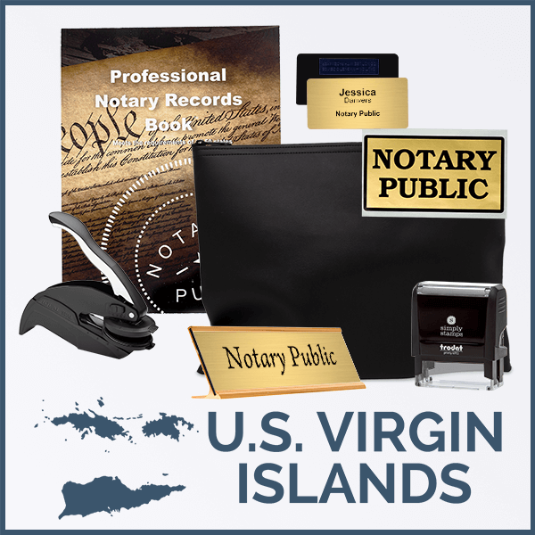 U.S. Virgin Islands Deluxe Notary Kit
