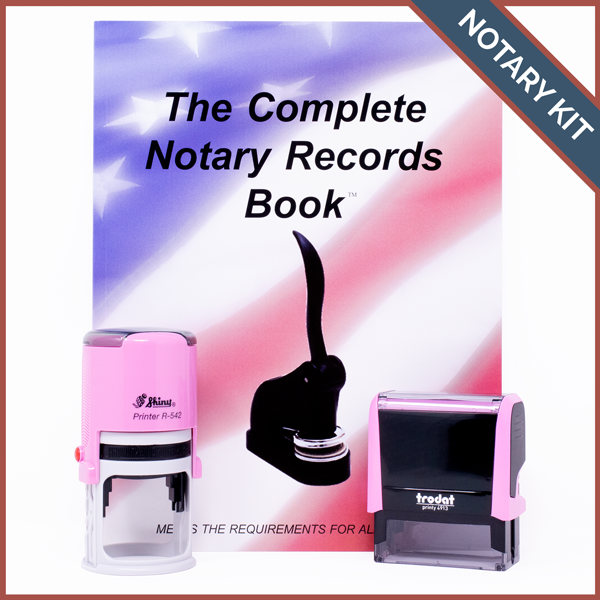 Nebraska Pink Value Notary Kit