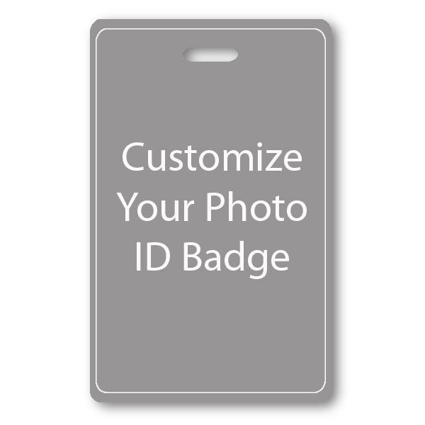 Vertical Double Sided ID Card